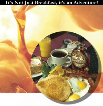 It's not just breakfast, it's an adventure