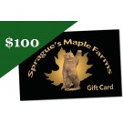 Sprague's Maple Farm's $100 Gift Card