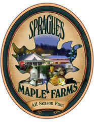 Plaque with Sprague's Maple Farms