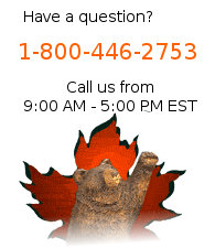 Our customer service is available 9:00 AM - 5:00 PM EST. Call us at 1-800-446-2753 or email us.